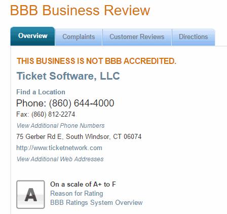 ticket liquidator reviews 2016 tickets bbb accredited score