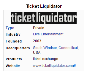 ticketliquidator.com reviews 2016 wiki company info