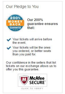 ticketnetwork reviews 2016 reliable legit safe guarantee money back