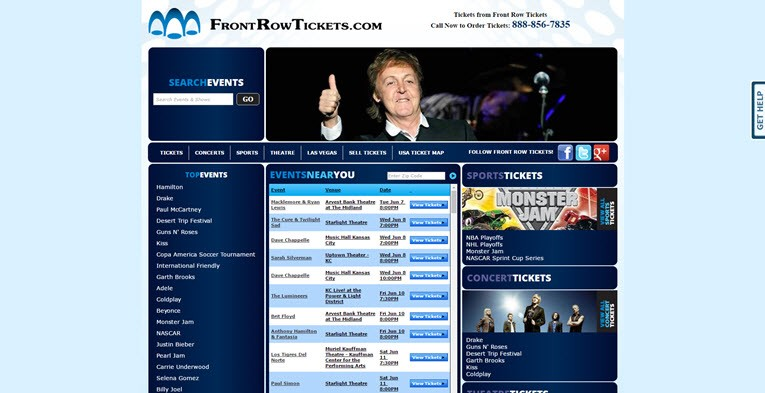 frontrowtickets.com reviews 2016 is frontrowtickets reliable legit safe website