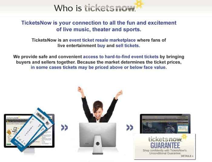 ticketsnow reviews 2016 is ticketsnow safe about us