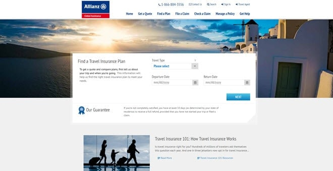 Allianz Travel Insurance Reviews (2020)  Is it World it & Any Good?