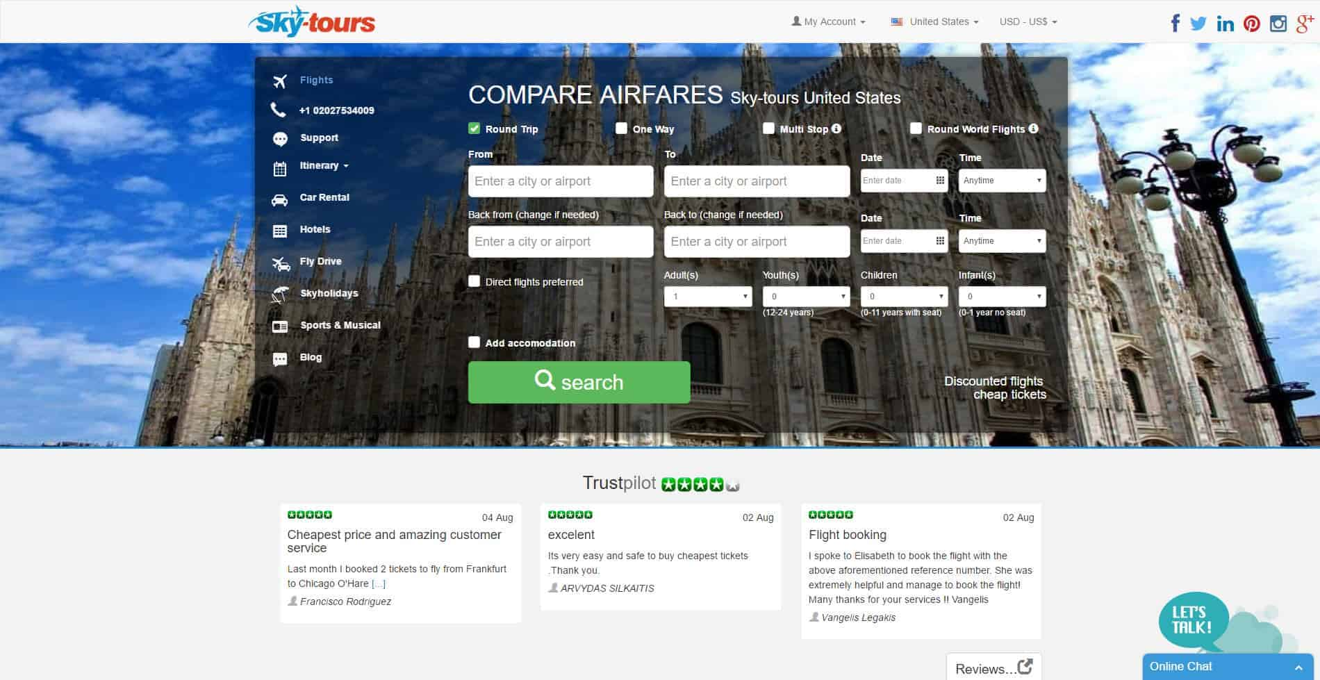 Affordable Tours Travel Agency Reviews