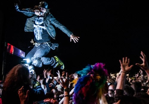 ticketfly reviews 2016 fans at concert front row tickets