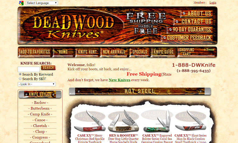 Deadwood Knives Reviews Is Deadwood Knives Legit Reliable or Safe