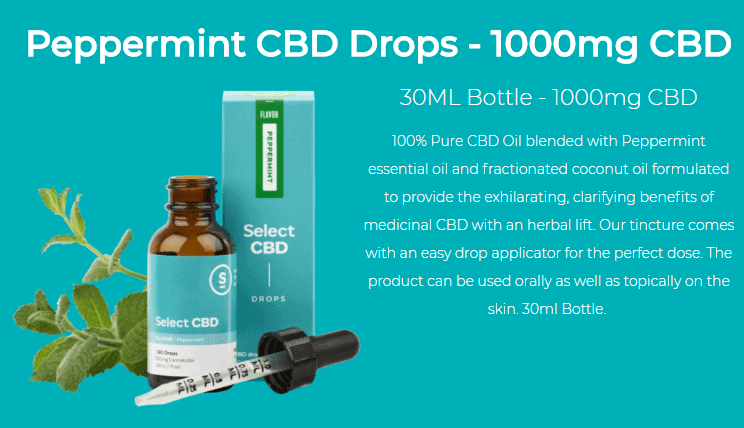 select cbd drops peppermint review 2018