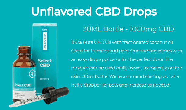 select cbd drops unflavored review 2018