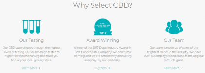 select cbd oil reviews