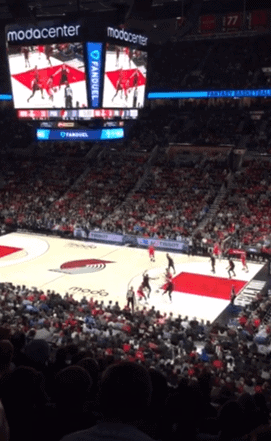 is ticket monster reliable blazers game