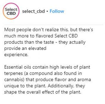 select cbd cream reviews