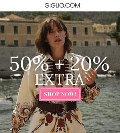 giglio promo code discount site savings