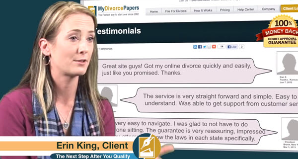 mydivorcepapers.com reviews customer is legit website