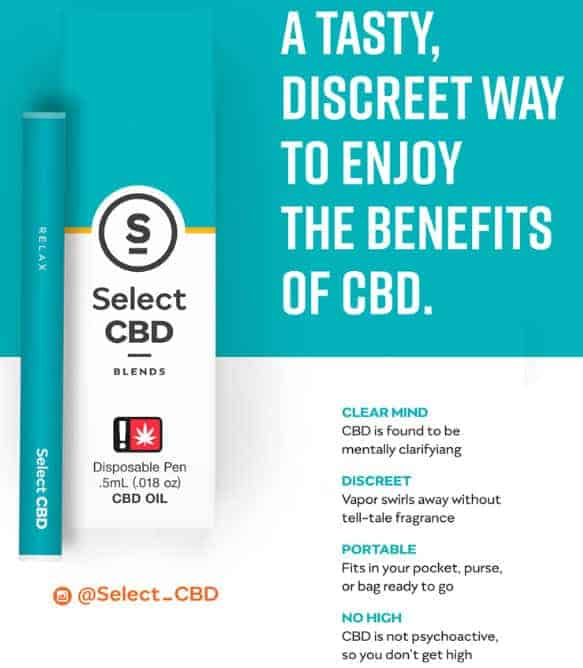 review select cbd pen 2020
