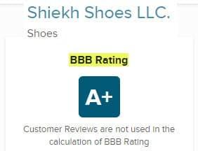 shiekh reviews 2020 legit shoes bbb rating