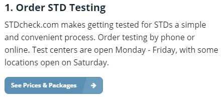 stdcheck review order std testing