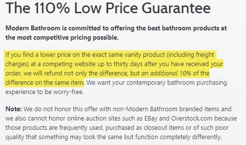 is modern bathroom legit website