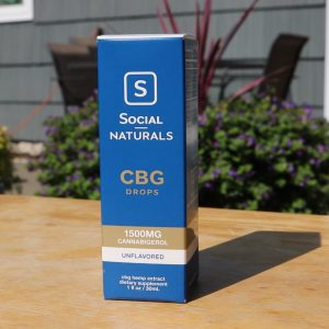 social naturals cbg drops review unflavored