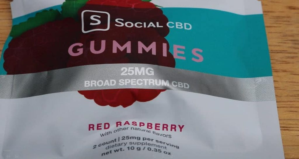red raspberry social cbd gummies reviews