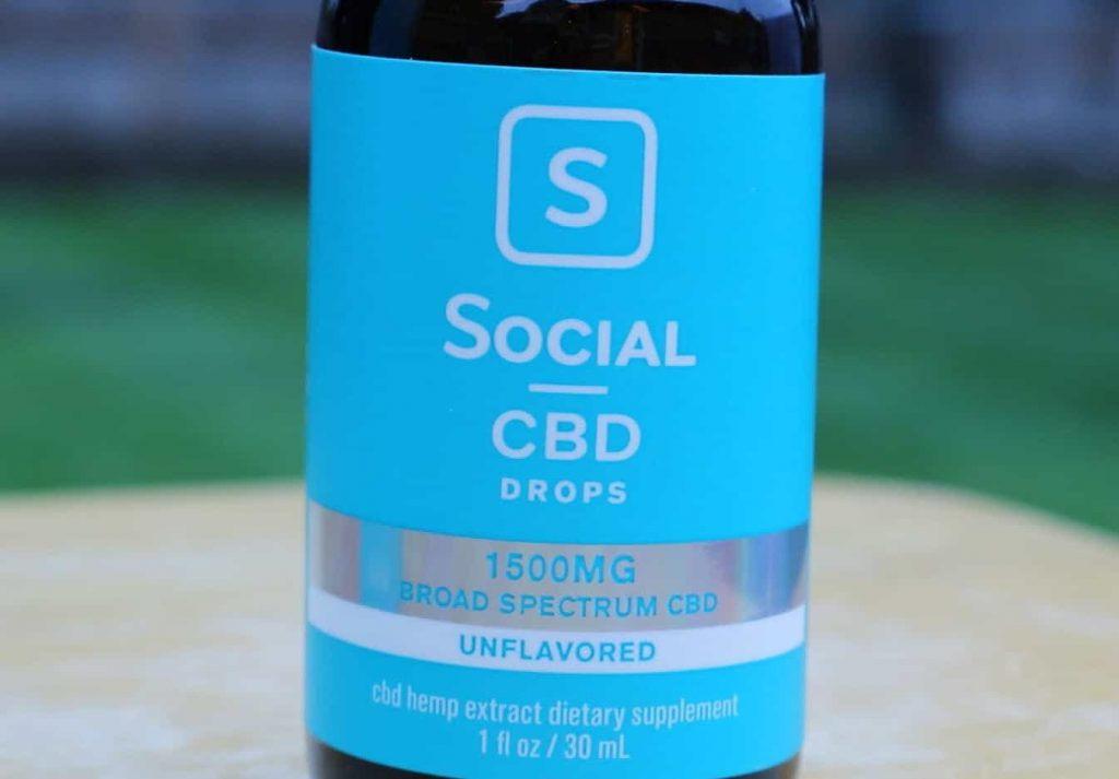 review social cbd drops unflavored oil