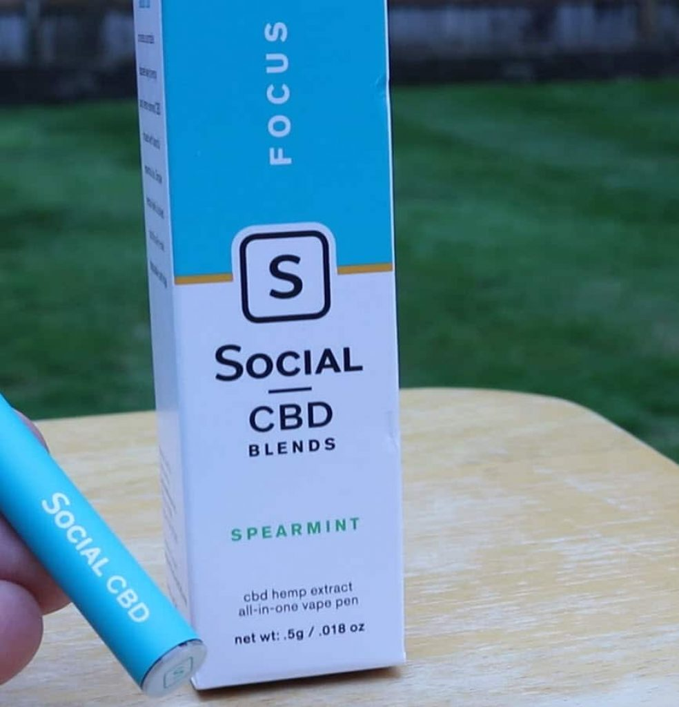 social cbd pen spearmint reviews 2020