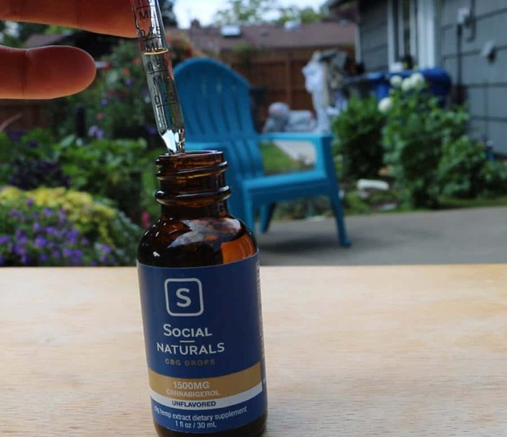 social naturals cbg oil drops reviews 1ml