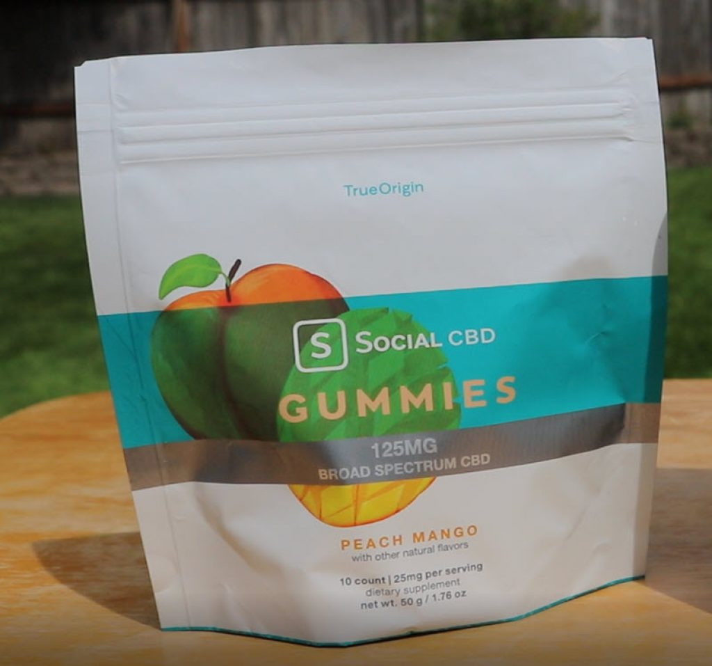 social cbd gummies peach mango reviews