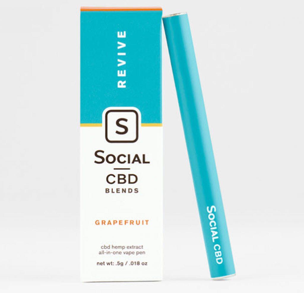 social cbd pen review revive grapefruit hemp extract