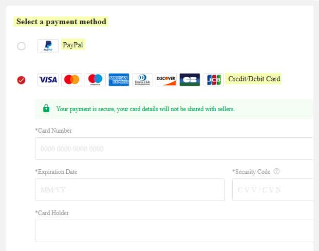 legit lightinthebox reviews payment method options