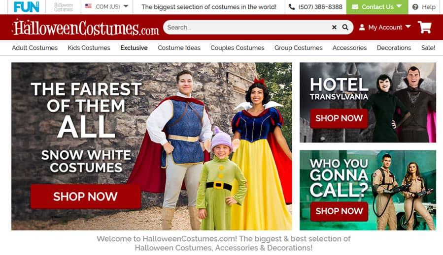 halloweencostumes.com reviews site safe