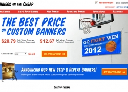Banners On The Cheap Reviews 2017