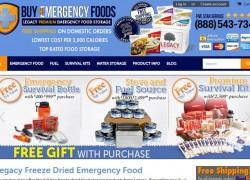 Buy Emergency Foods Coupon Code 2017 | BuyEmergencyFoods.com Coupon