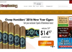 CheapHumidors.com Reviews 2017