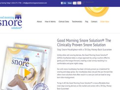 Good Morning Snore Solution Reviews 2017