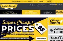Super Cheap Signs Reviews 2017