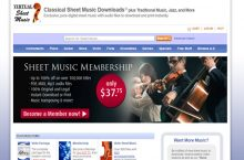 Virtual Sheet Music Reviews 2017