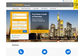 Condor Airlines Reviews 2017