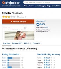 is-shein-reliable-legit-reviews-sitejabber