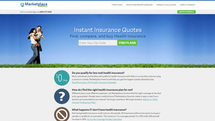 Marketplace America Insurance Reviews 2020
