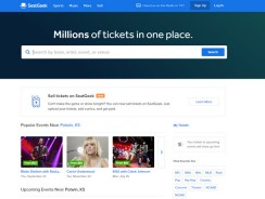 SeatGeek Reviews 2017