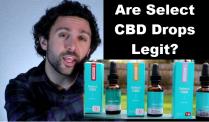 Select CBD Review Oil Drops