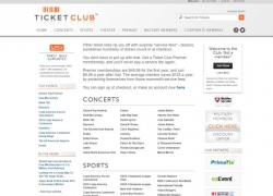 Ticket Club Reviews 2018 | Is Ticket Club Legit?